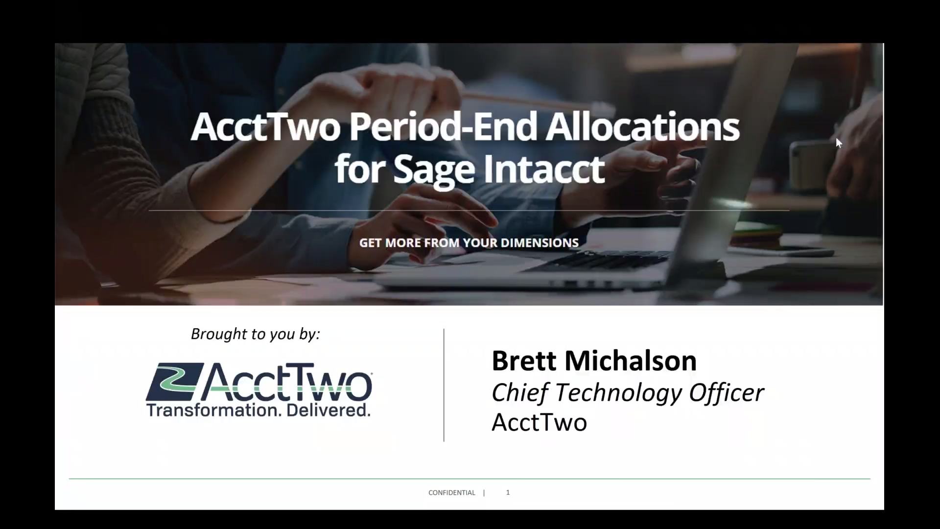 AcctTwo Period-End Allocations Module Automation for Sage Intacct - Demo-3